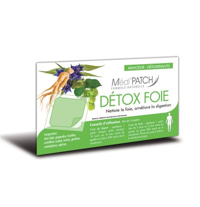 Médi'PATCH Detox foie