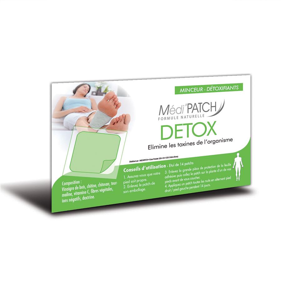 patch detox d toxifier votre corps les produits naturels. Black Bedroom Furniture Sets. Home Design Ideas