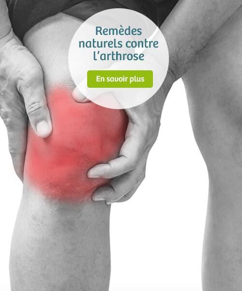 Les remèdes naturels contre l'arthrose